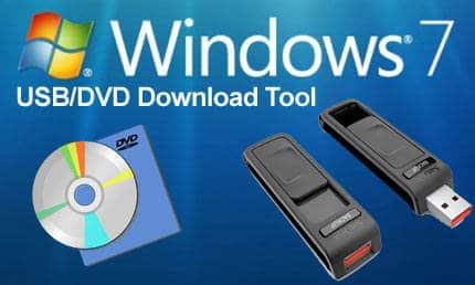 Windows 7 USB:DVD Download tool