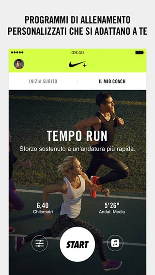 Smartphone e fitness - nike