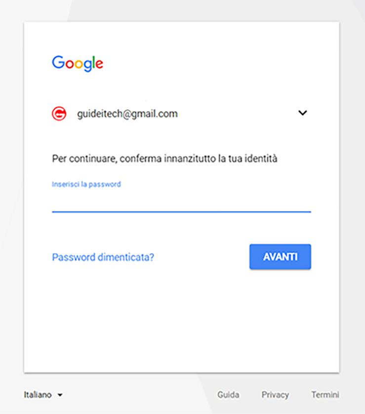 revocare accesso account Google 1
