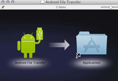trasferire file dal Mac a un dispositivo Android 1