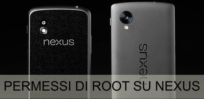 Permessi di root con un clic su Nexus