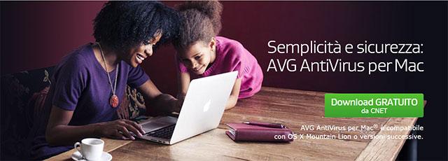 AVG AntiVirus per Mac 1