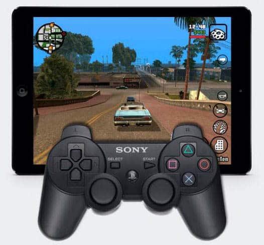 controller di PS4 per giocare su iPhone e iPad