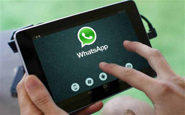 WhatsApp su tablet wi-fi Android 2