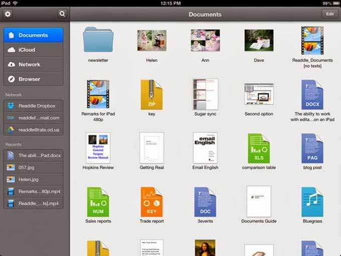 aprire file RAR su iPad 1