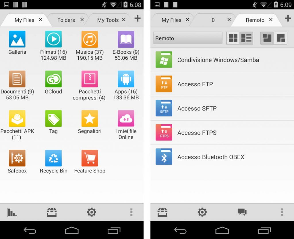 File Manager Android gratuiti file expert