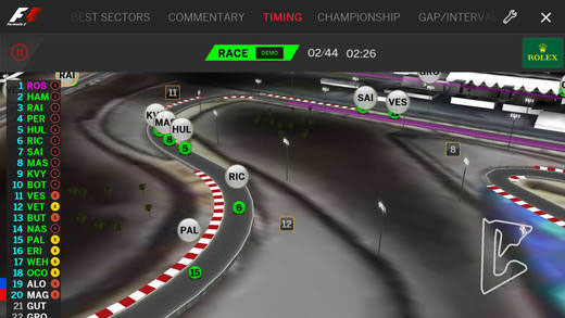 Formula 1 su iPhone e iPad