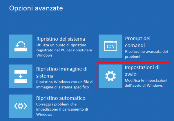 verifica della firma drivers in Windows 8 10