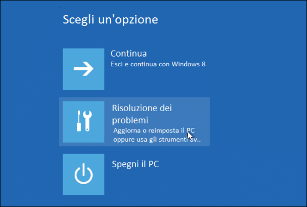 verifica della firma drivers in Windows 8 8