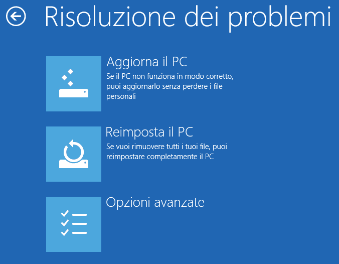 verifica della firma drivers in Windows 8 9