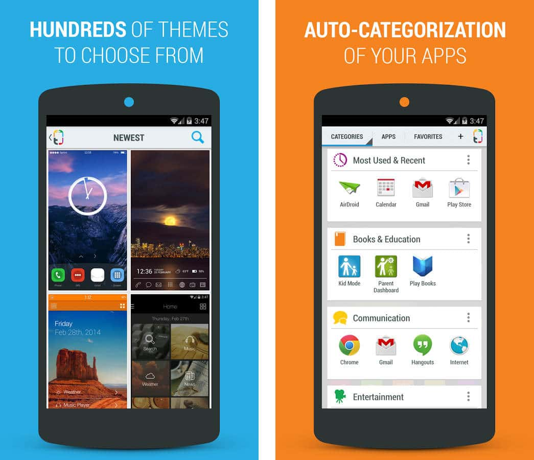 launcher per Android - Themer