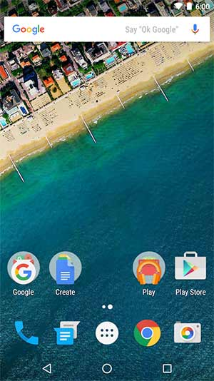 launcher Android - apex