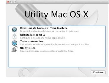 clonare Hard Disk del Mac utility disco