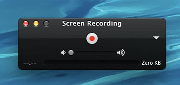 registrare schermo Mac logo