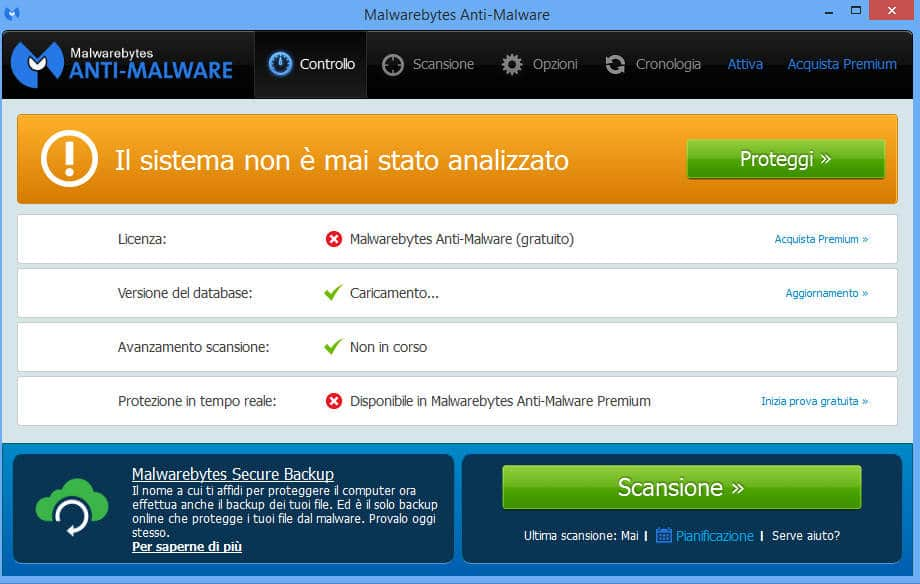 eliminare gratis malware 5