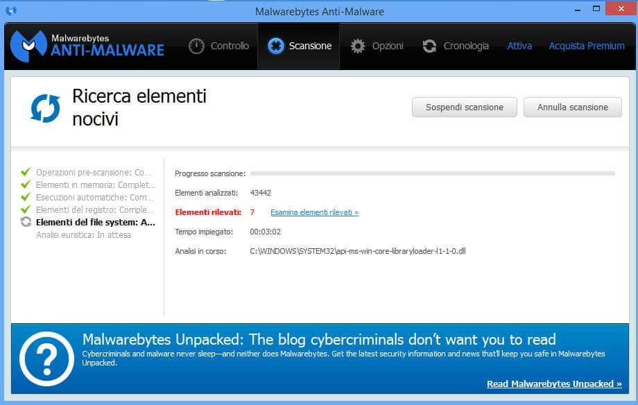 eliminare gratis malware 6