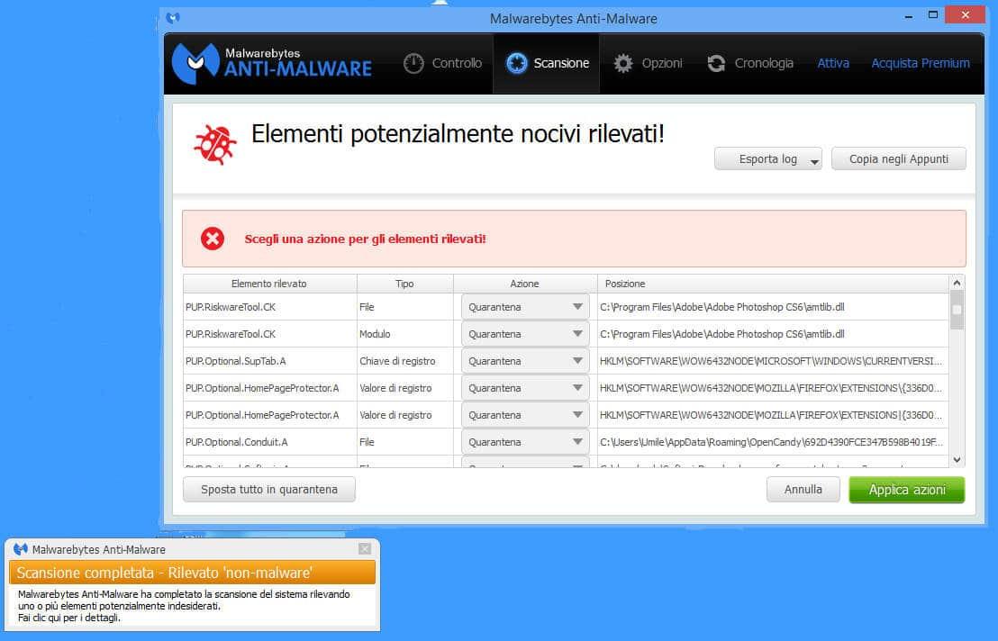 eliminare gratis malware 7