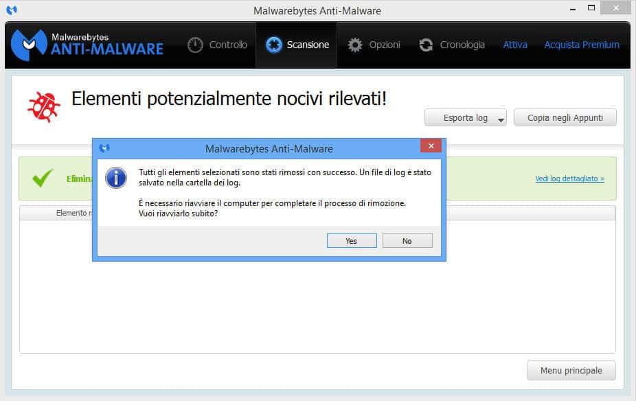 eliminare gratis malware 9