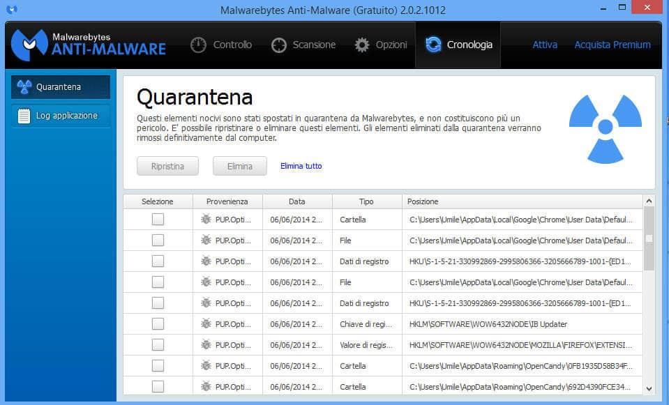 eliminare gratis malware 8