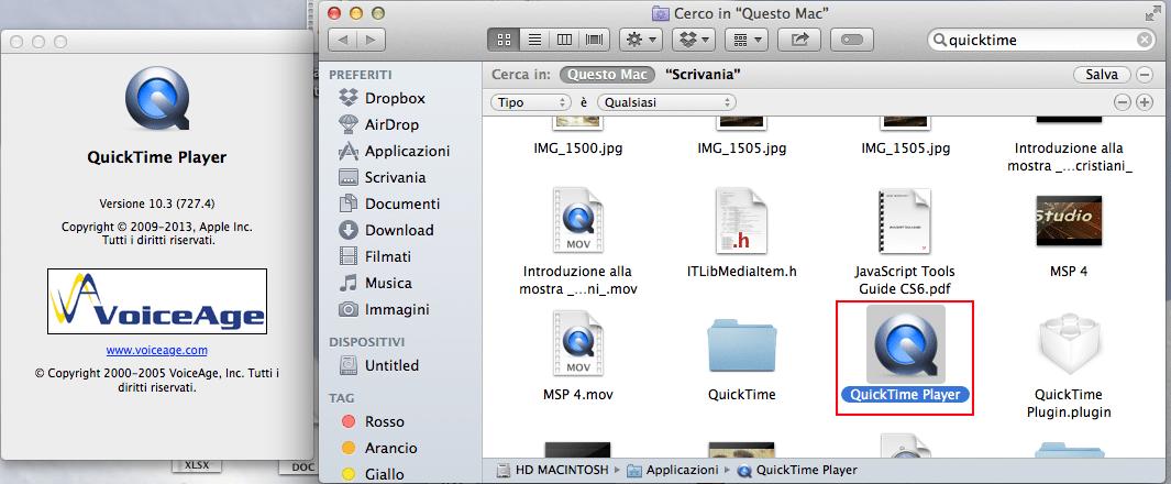 registrare schermo Mac 2
