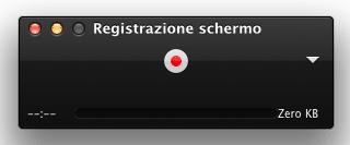 registrare schermo Mac 5