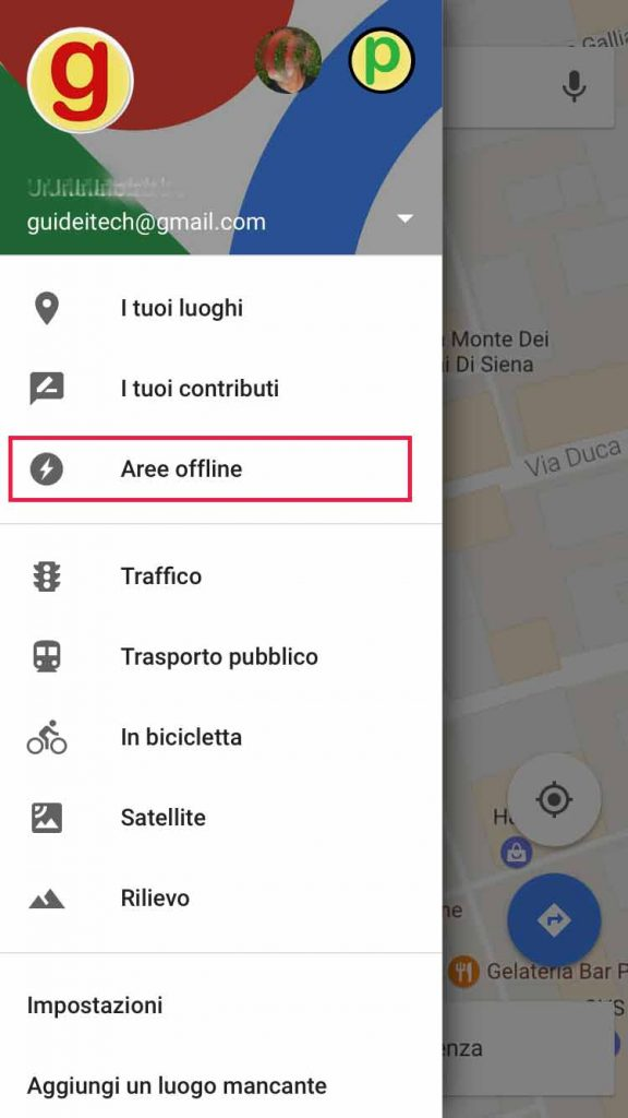 salvare mappe offline Google Maps su iPhone 2