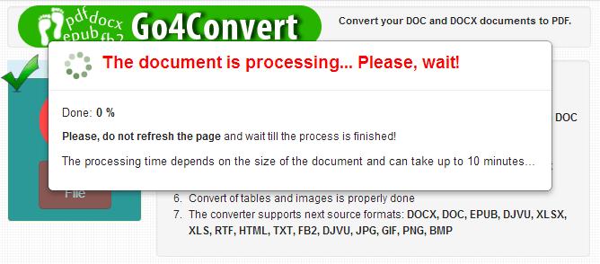 convertire online ePUB in PDF 3
