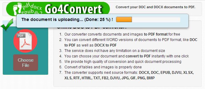 convertire online ePUB in PDF 2