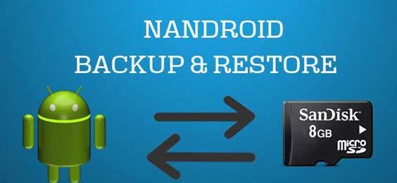 backup e ripristino Android