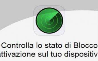 Trova il mio iPhone