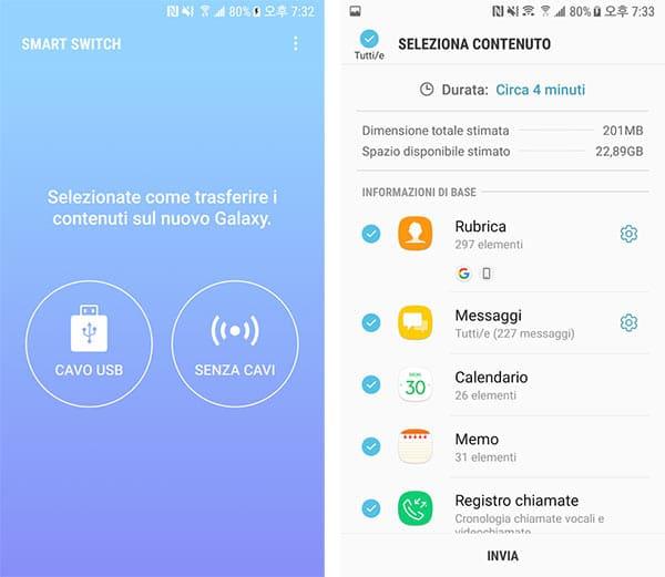 Migrare E Trasferire Dati Da Iphone A Galaxy Guideitech
