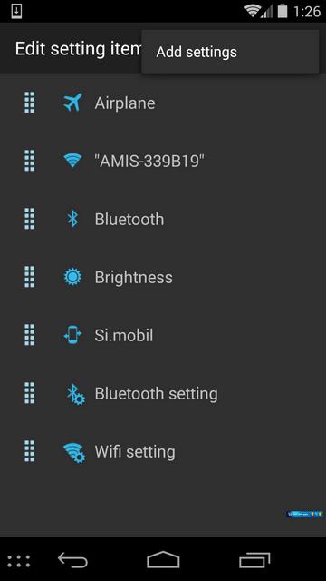 installare il menù Start di Windows sui dispositivi Android 5