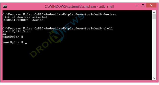 installare TWRP Recovery su LG G3 4