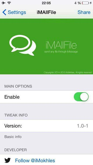 iMAllFile-tweak