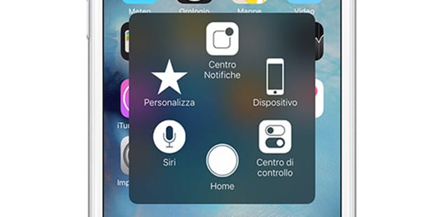 tasto home touch screen iphone