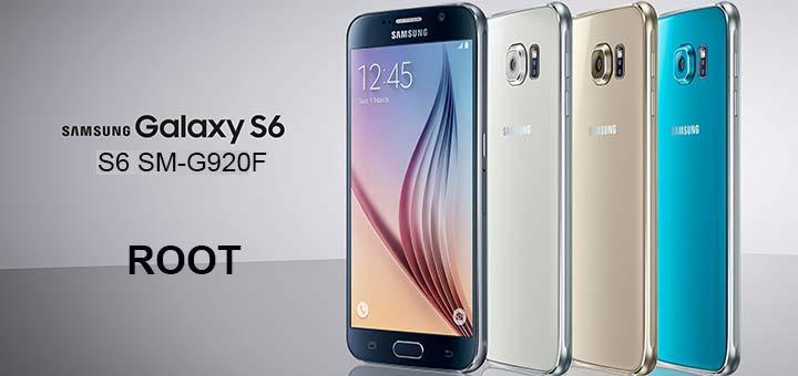permessi di root su Galaxy S6 logo