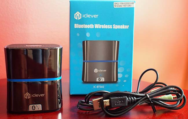 iClever Bluetooth Wireless Speaker 3