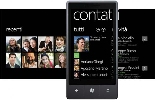 nascondere contatti Facebook dalla rubrica Windows Phone 8