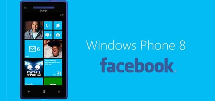 nascondere contatti Facebook dalla rubrica Windows Phone 8 logo