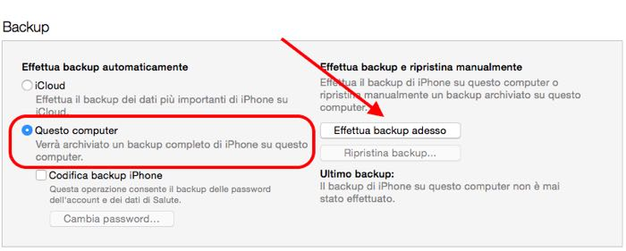 Come installare beta pubblica iOS 9 backup