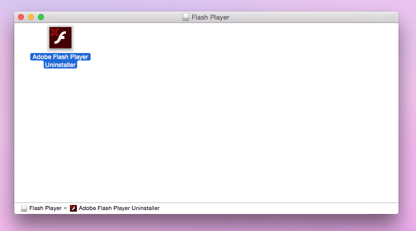 disinstallare flash player su mac 2