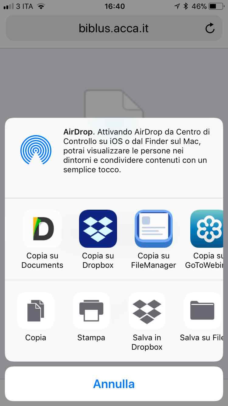 Leggere PDF su iPhone 3