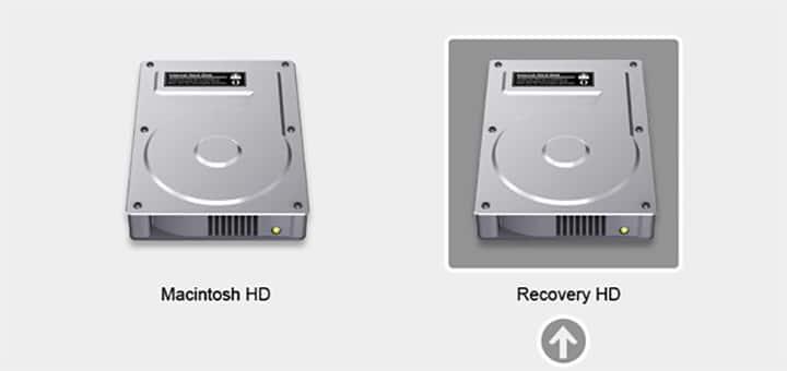 ripristinare disco rigido del mac logo