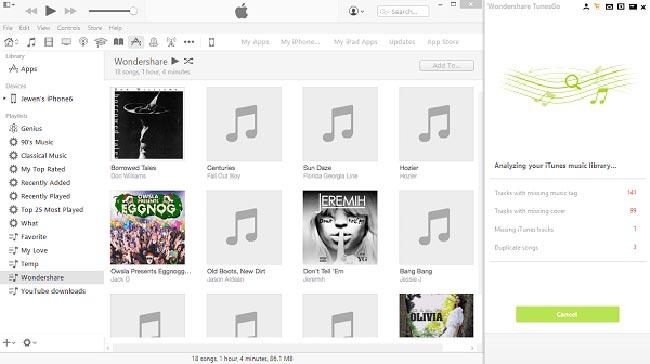 trasferire musica da iTunes a LG G4 2