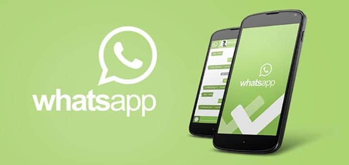 chiamare con whatsapp android logo