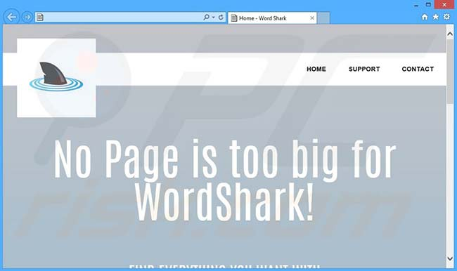 eliminare malware WordShark