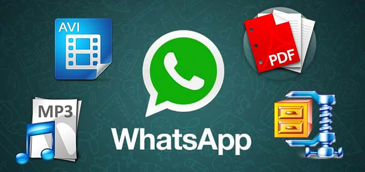 Inviare PDF con WhatsApp Android logo