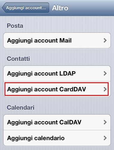 trasferire Contatti su iPhone 02