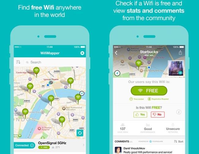 reti Wi-Fi gratuite