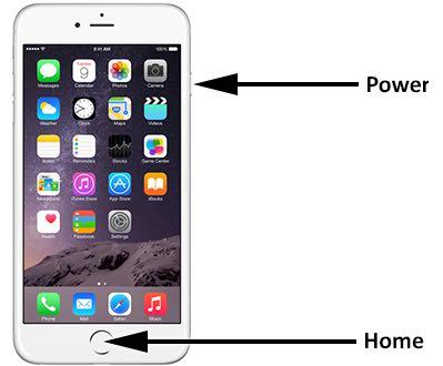 iPhone schermo nero ma funzionante